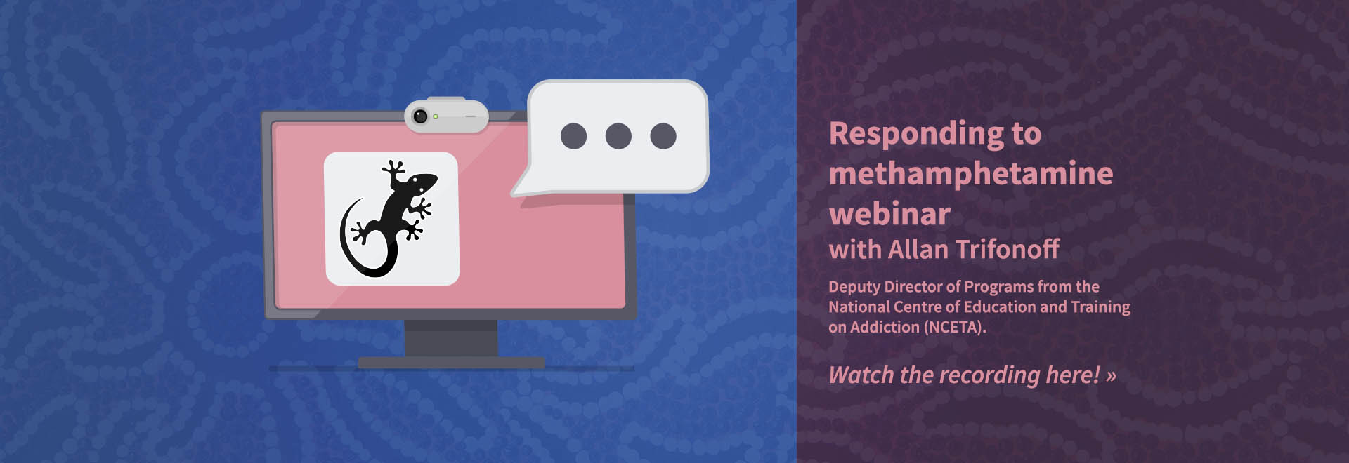 Responding to methamphetamine webinar