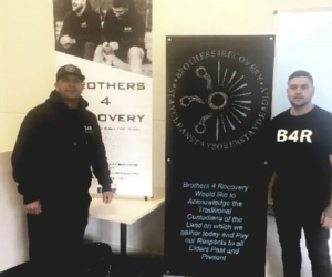 Brothers 4 Recovery – delivering a strong message of hope